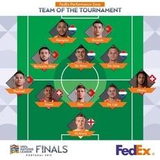 Роналду, Депай и Пикфорд - в символической сборной Лиги наций