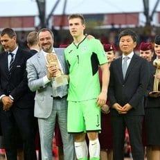 Андрей Лунин в числе претендентов на награду Golden Boy