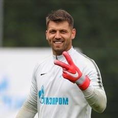 """Юрий Лодыгин покинет """"Зенит"""" свободным агентом"""
