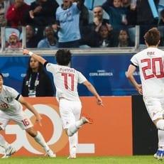 Кубок Америки: Уругвай и Япония сыграли вничью