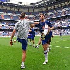 """Реал Мадрид"" обыграл ""Челси"" в матче легенд"