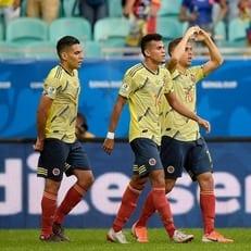 Колумбия минимально обыграла Парагвай