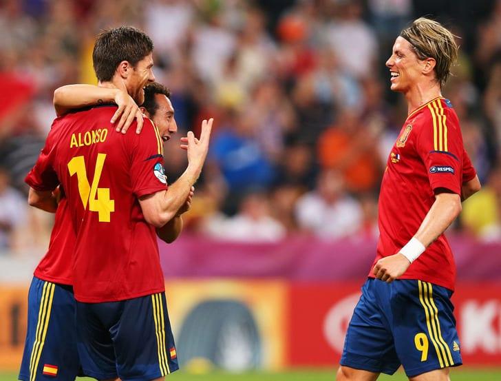 Алонсо, Касорла и Торрес, Getty Images