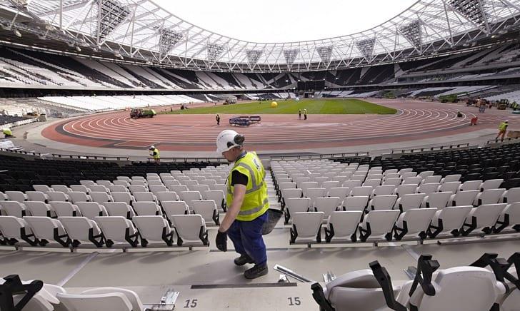 """""""Олимпийский стадион"""" / Фото: guardian.co.uk"""
