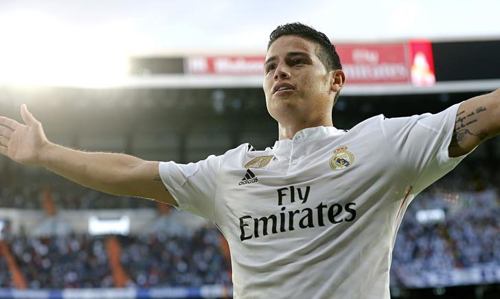 Хамес Родригес / Victor Carretero/Real Madrid via Getty Images