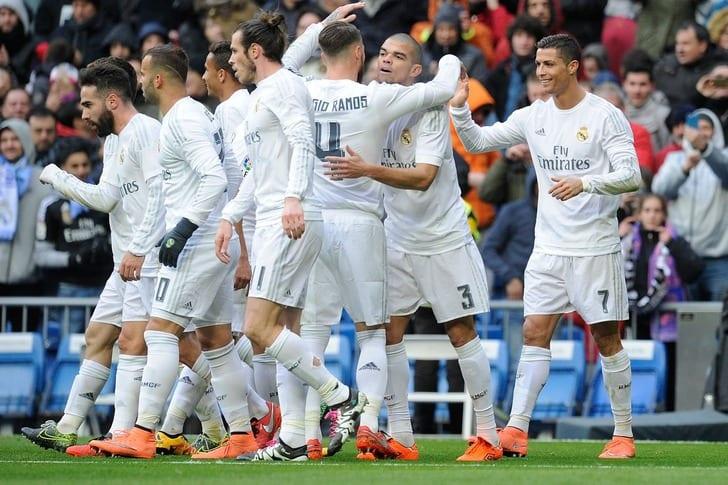 """""""Реал Мадрид"""" празднует гол, Getty Images"""