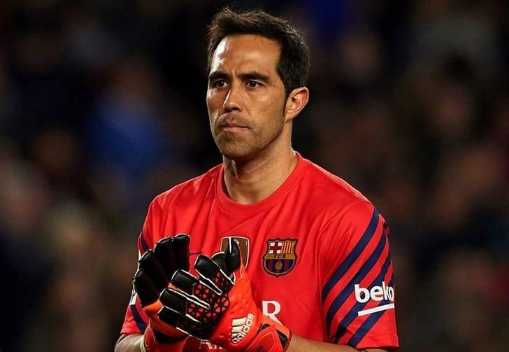 Браво сразрешения «Барселоны» пропускает теперешнюю тренировку команды
