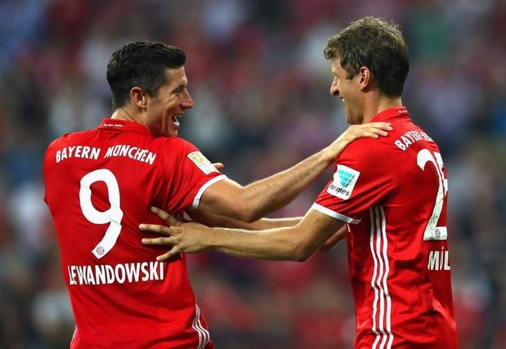 Левандовски оформил два хет-трика в 2-х первых матчах «Баварии»