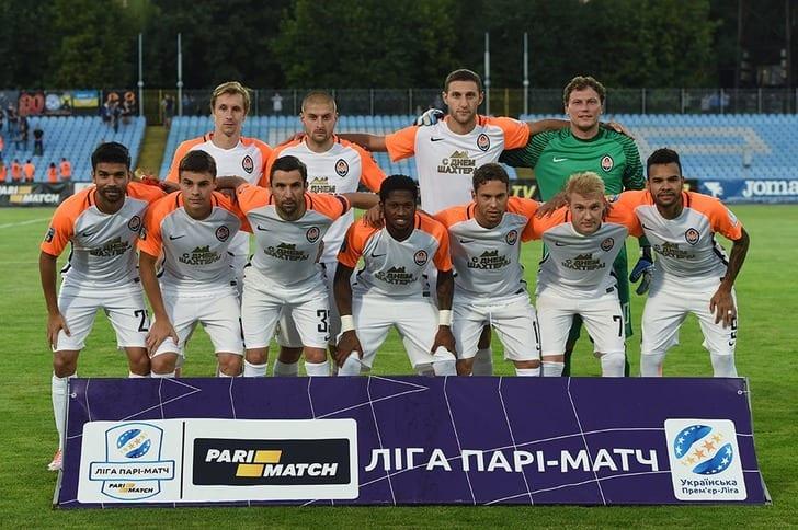 «Шахтер» едва обыграл «Сталь» вчемпионате Украины