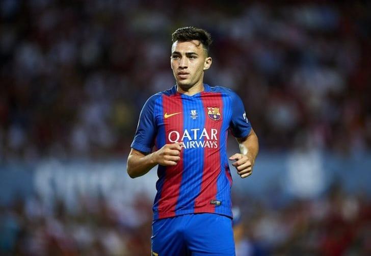 «Валенсия» подтвердила аренду нападающего «Барселоны» Мунира