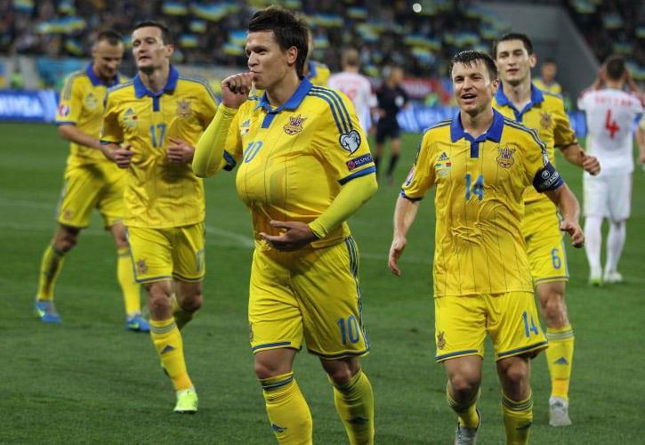 Сборные Украины иКосово сыграют матч отбора наЧМ-2018 вБолгарии