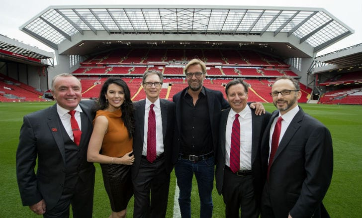 Стадион Ливерпуля увеличился на8 тыс. мест