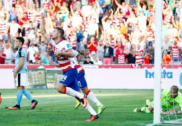 Кравец забил дебютный гол вИспании, однако неспас «Гранаду» отпоражения