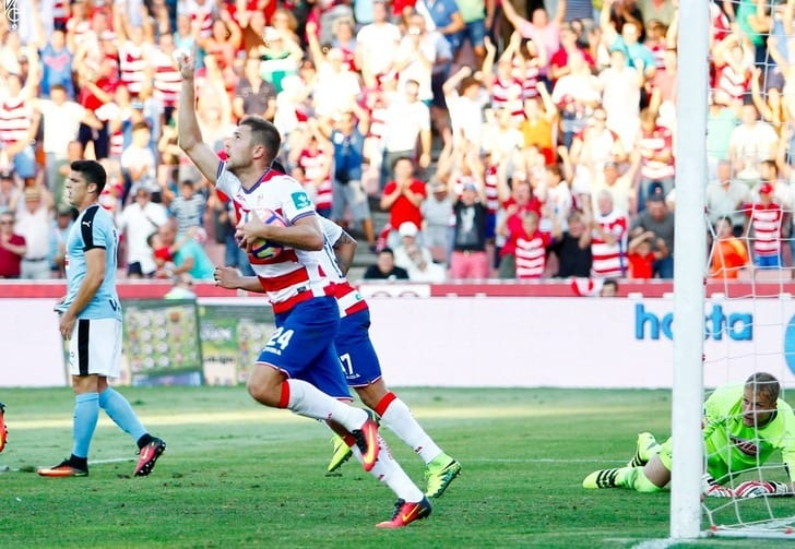 Экс-форвард «Динамо» Кравец отметился голом вдебютном матче за«Гранаду»
