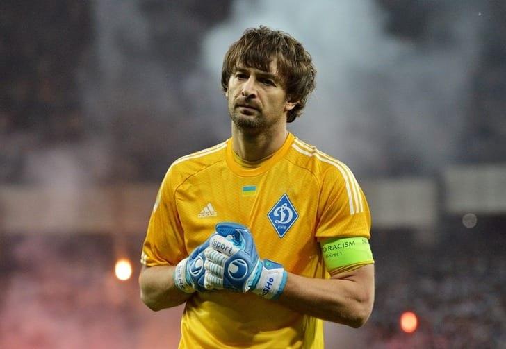 Шовковский стал вторым всписке самых возрастных игроковЛЧ