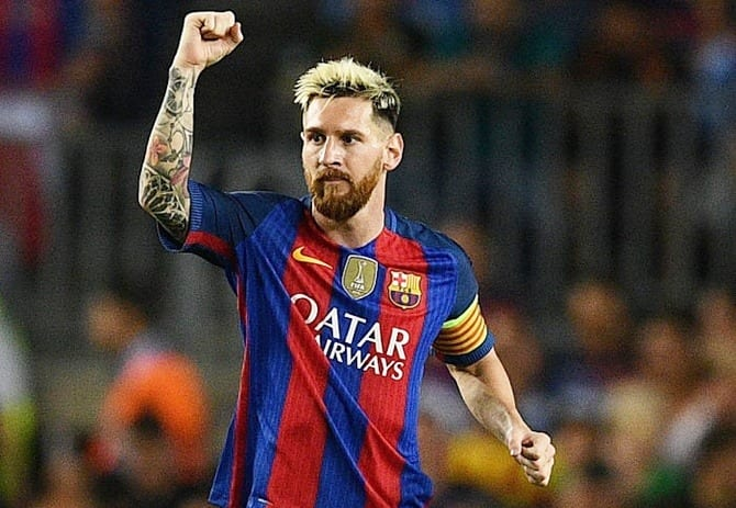 Два гола Лионеля Месси помогли «Барселоне» разгромить «Леганес» 5:1