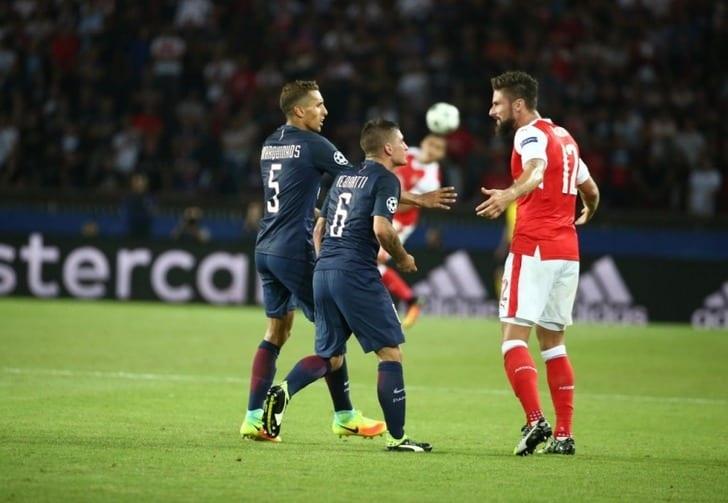 УЕФА отменит красную карточку Верратти