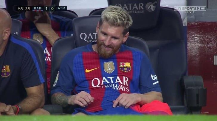 «Барселона» теряет Месси иупускает победу вматче с«Атлетико»