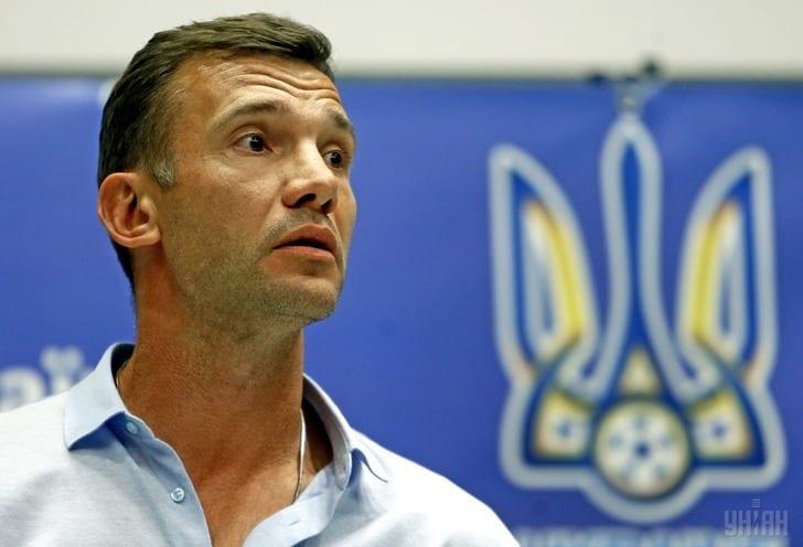 Шевченко вызвал всборную государства Украины семерых легионеров