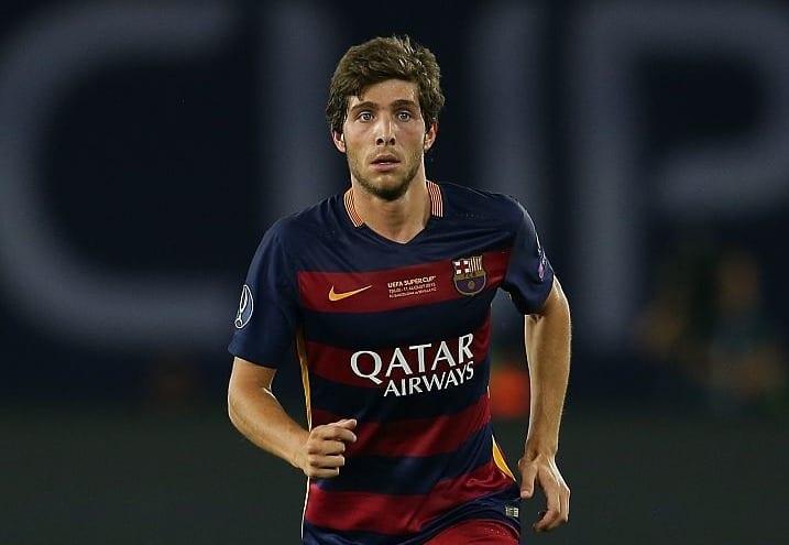 «Барселона» желает продлить Серхи Роберто