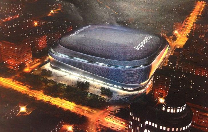 В2016г. «Реал» начнет реконструкцию «Сантьяго Бернабеу»