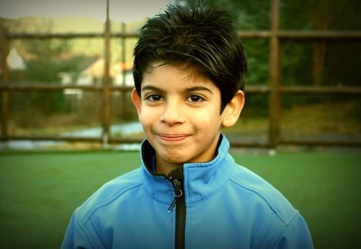 Как играет 10-летний палестинец, которого приютил «Ювентус»