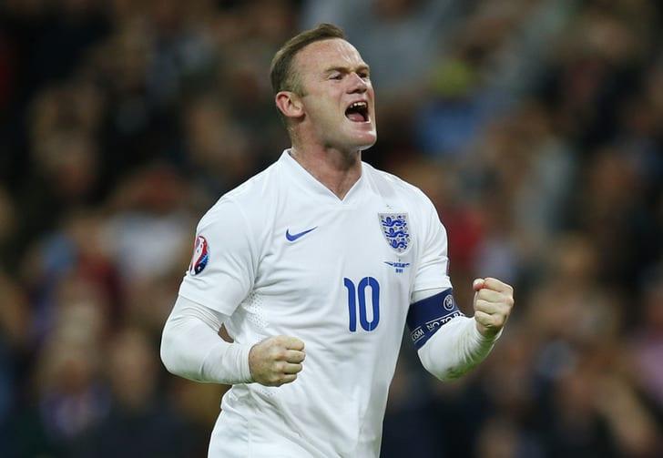 Словения - Англия. Руни начнет игру в запасе