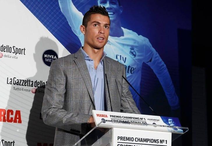 Роналду признали лучшим игроком Лиги чемпионов