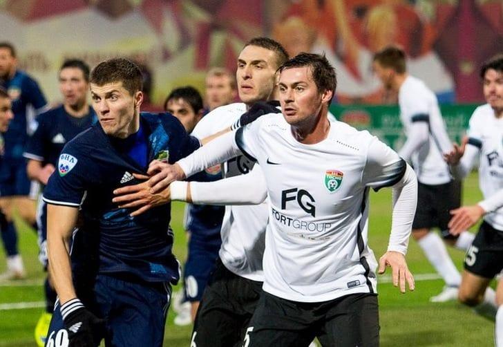 Милевский сделал первую голевую передачу во 2-ой лиге чемпионата РФ