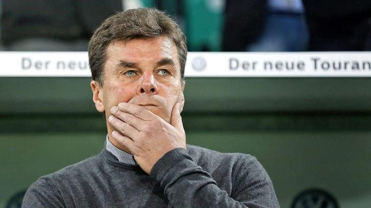 Дитер Хеккинг уволен споста основного тренера «Вольфсбурга»