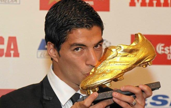 Кусачий футболист «Барселоны» 2-ой раз получил «Золотую бутсу»