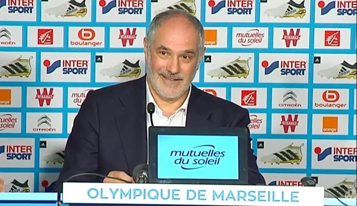 Субисарета назначен надолжность спортивного директора футбольного клуба «Марсель»