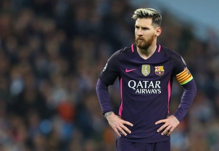 Месси поругался сигроками «Манчестер Сити» после матча Лиги чемпионов