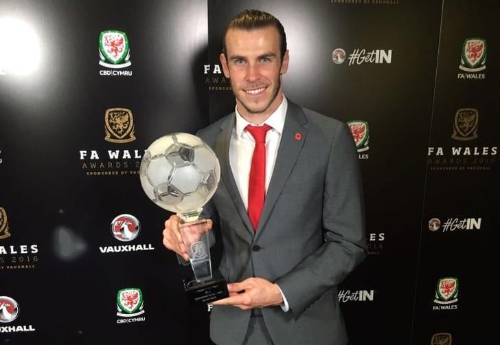 Бэйла в 4-й раз кряду признали лучшим футболистом Уэльса