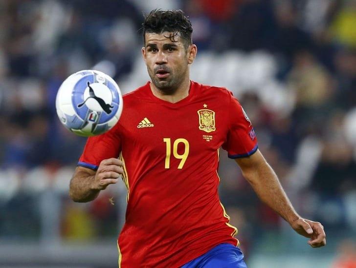 Коста пропустит матчи сборной Испании против Македонии и Британии