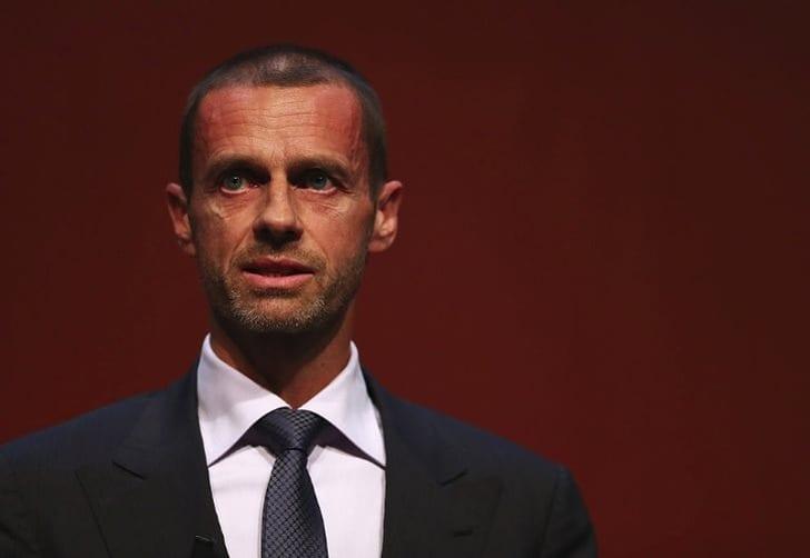 Президент УЕФА Чеферин едет в государство Украину