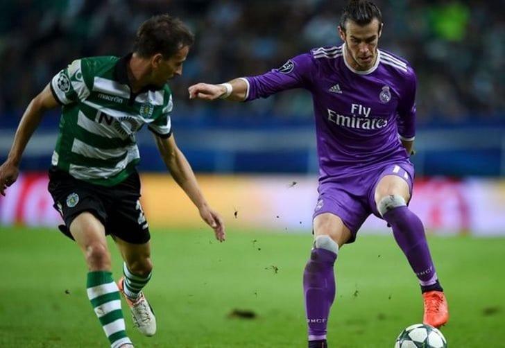 Футболист «Реала» Бэйл получил травму щиколотки вматче против «Спортинга»