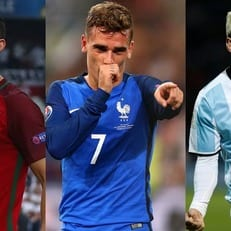 Роналду, Гризманн и Месси претендуют на звание Игрока года по версии ФИФА
