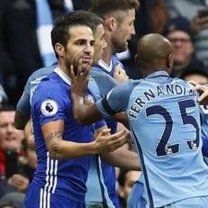 FA может наказать Фабрегаса за конфликт с Фернандиньо