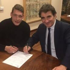 """Официально: Белотти продлил контракт с """"Торино"""" до 2021 года"""