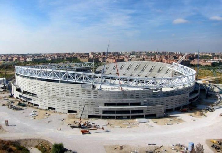Атлетико заработает 100млневро наназвании нового стадиона