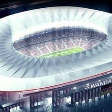 """Мадридский """"Атлетико"""" представил название нового стадиона и новую эмблему"""
