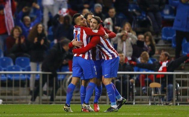 «Атлетико», «Лас-Пальмас» и«Кордова» вышли в1/8 финала Кубка Испании