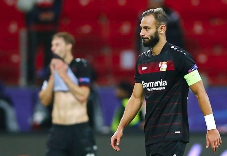 Защитник «Байера» Топрак летом перейдет вдортмундскую «Боруссию»