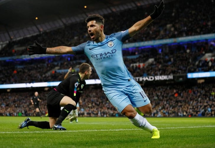 Футболисты «Манчестер Сити» победили «Бернли» вматче чемпионата Британии