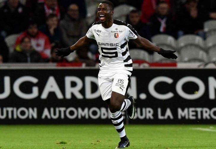 Нападающий сборной Франции Нтеп перешел из«Ренна» в«Вольфсбург»