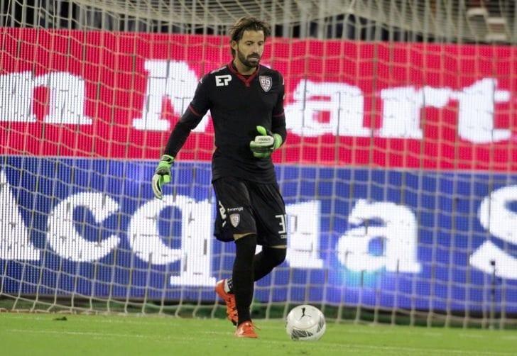 40-летний голкипер Сторари вновь будет выступать за«Милан»